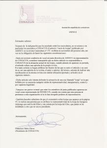 Carta de Conacun
