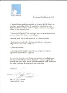Carta de Conacun lonja (1)